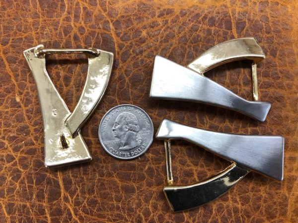 nickel and brass belt buckles for sale