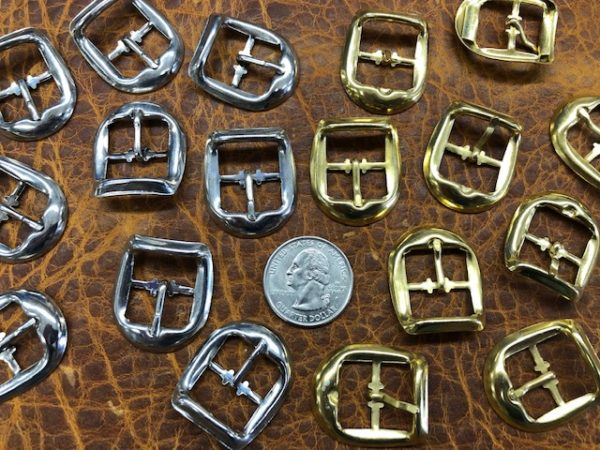 stamped metal buckles for sale