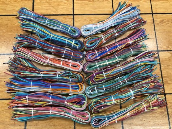 Colorful Leather Laces For Sale