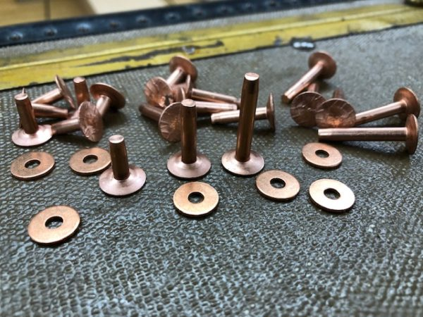 Copper Rivets and Burrs