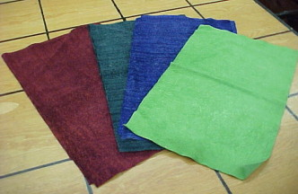 Monster Suede! Very Fuzzy Suede Leather Craft Panels