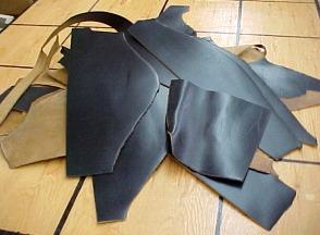 black belting leather for sale
