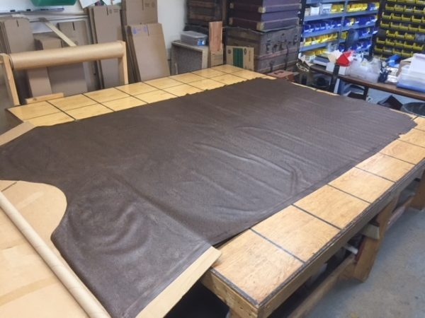 embossed leather cowhides on sale