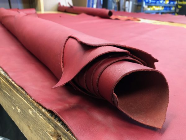 soft red leathers for making handbags