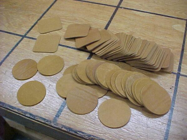 latigo leather coasters for sale