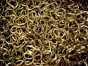 one in ch brass d rings