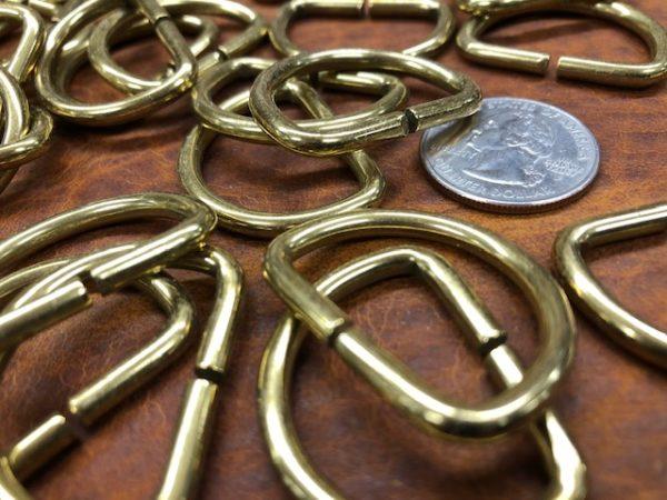 1 inch brass drings