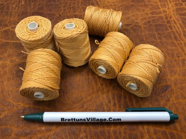 pumpkin color sturdy thread