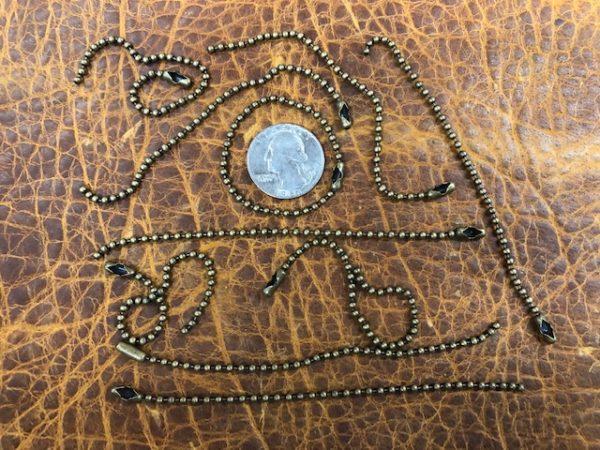 antique brass key chains