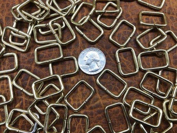 rectangular brass rings