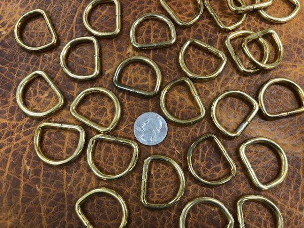 vintage brass drings