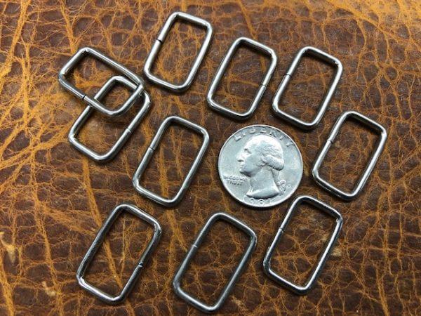 rectangular rings for belts