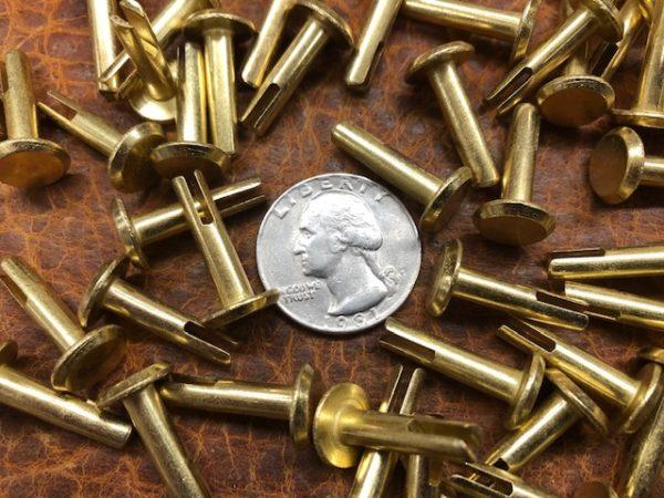 Heavy duty split rivets