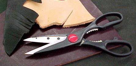 leather craft scissors