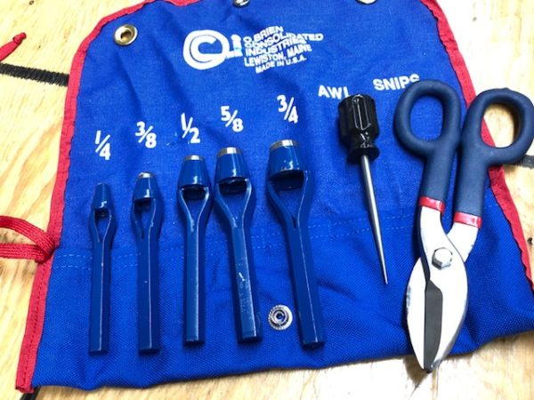 Leather craft tool kits for sale