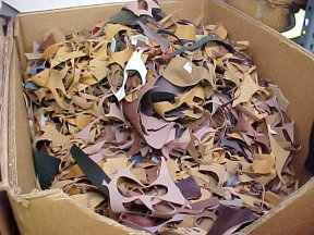 scrap leather for sale by the pound