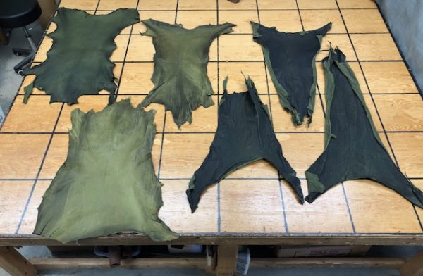 Rawhide leather for sale