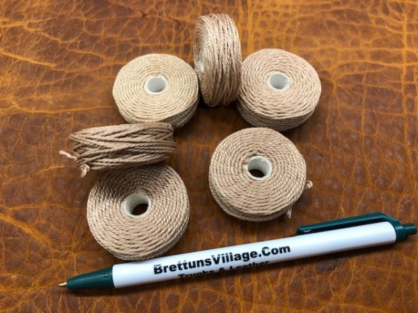 tan dacron braided thread