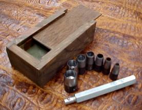 leather hole punch set