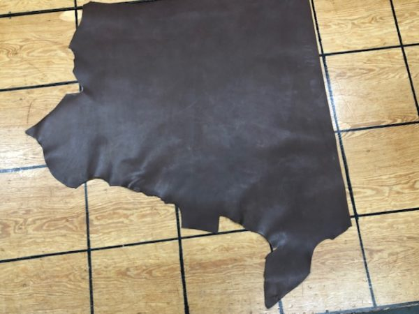 single shoulder of brown cowhide leather for sale