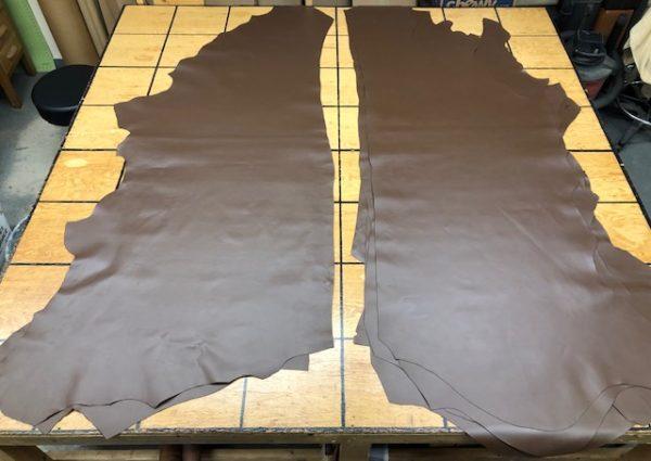Walnut Brown Side Leather