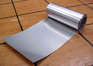 Aluminum sheet sold by the running foot for trunk repair
