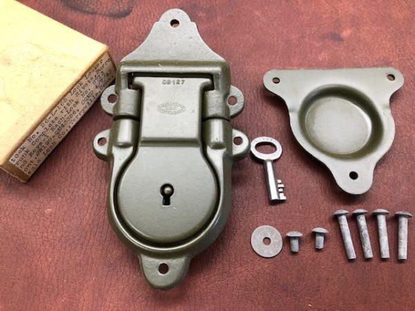 Genuine US Army Issue Footlocker Locks with Keys