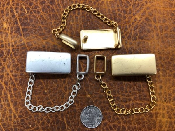 buckle and keeper set in nickel or brass
