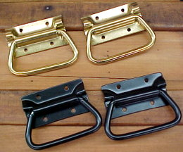 CH-97 Black or Brass-Plated Steel Tool Chest Handles