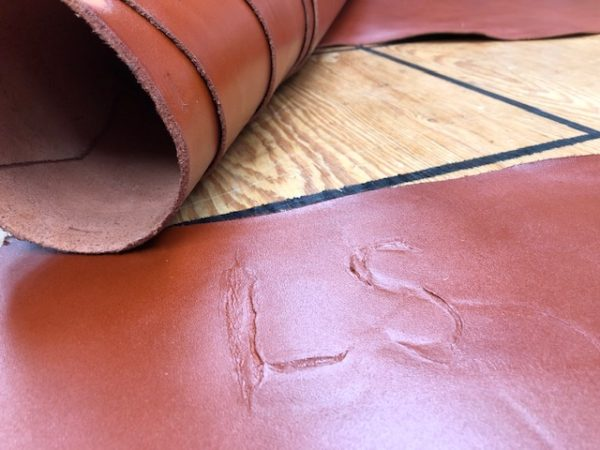 6 oz veg tan leather for sale