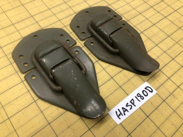 Olive Drab footlocker hasps for sale