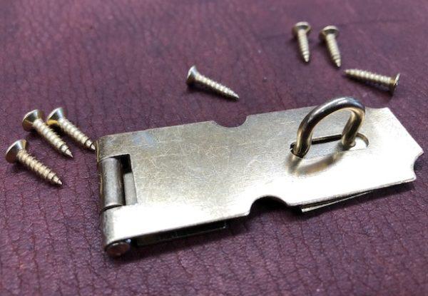 Small hasps for padlocks