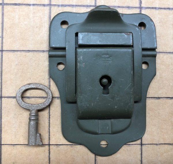 Old Stock Excelsior Lockworks Steamer Trunk Locks with Keys