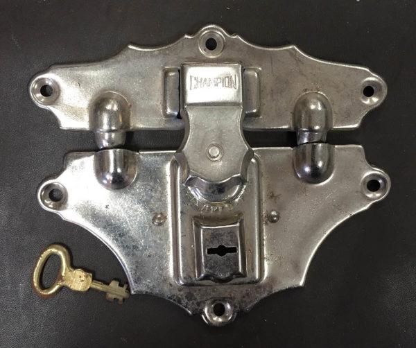 Old Stock Original Champion Lock Set with Keys