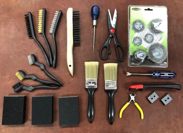 Super Tool Combo -Tool Set for Working on Antique Trunks or Steamer Trunks
