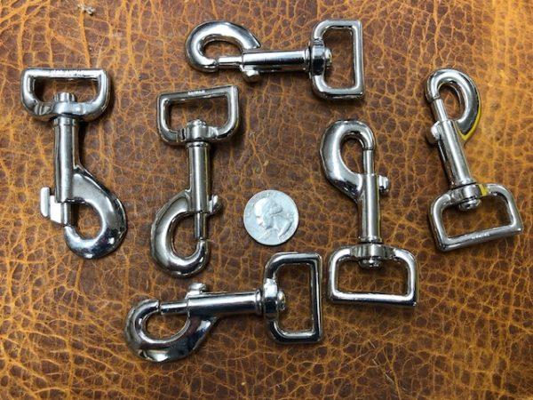 one inch dog leash snap hooks
