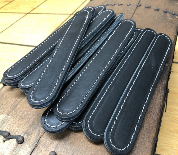 Leather Steamer Trunk Handles with No Slots
