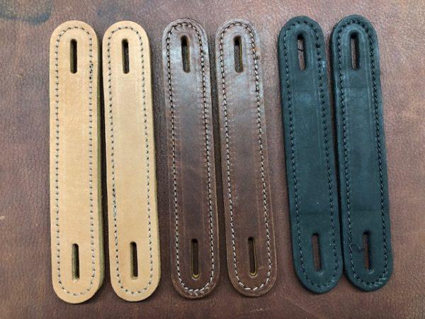 TH08 leather footlocker handles