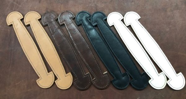 Large leather handles for steamer trunks
