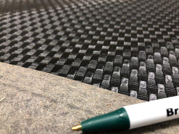 crass hatch pattern on imitation leather