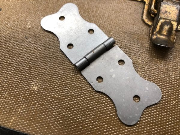 Large Replacement hinges for steamer trunks for sale with free USA shipping