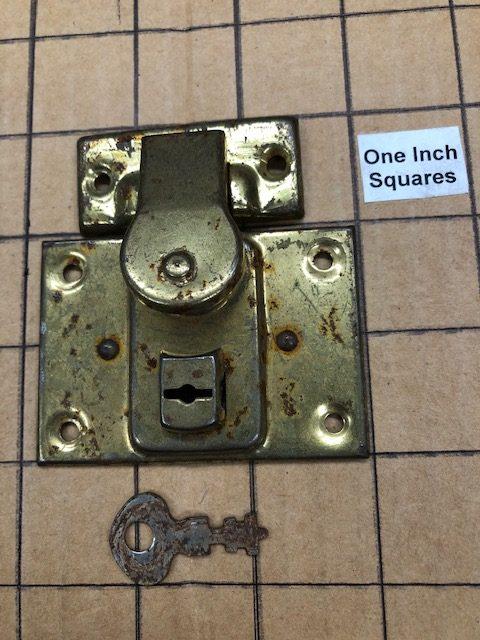 Old Stock Original Doll Trunk Locks with Keys