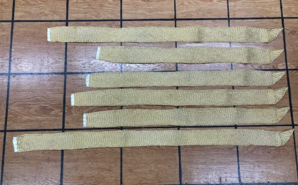 Gold Woven Sash Belts