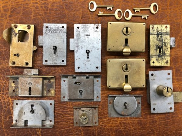 old stock desk and drawer locks