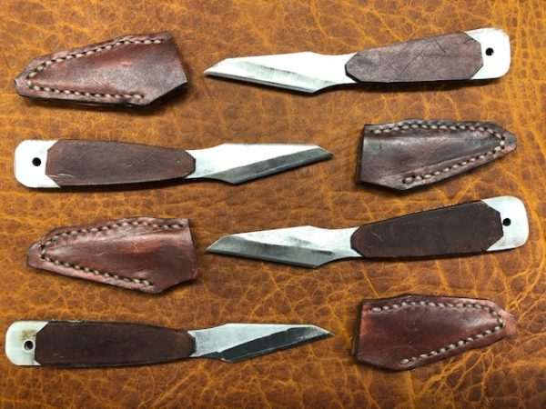 The Brettuns Village Leather Knife - Sharp, Lightweight, Easy to use