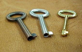 Small Barrel Keys for Small Locks; free USA shipping!