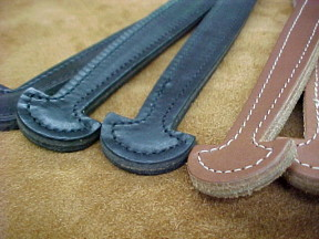 Small Stitched Wide End Handles for Cases and Boxes TH-16