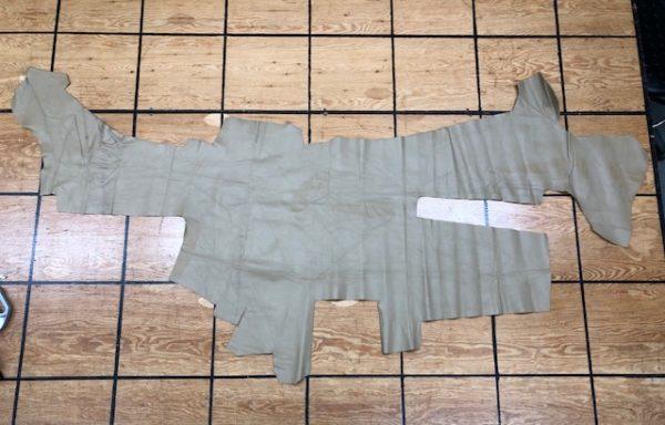 Clearance 1479: Cafe au Lait Soft Garment Leather Hide