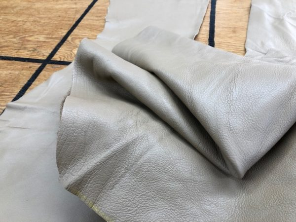 Set of Sand Tan Garment Soft Leather Panels sold as a set