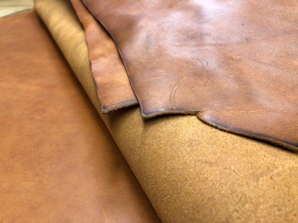 Height-O-Land Sunset 6 Ounce Latigo Leather Sides are LARGE